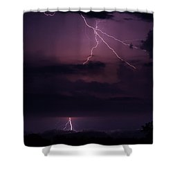 Shy Strike Shower Curtain