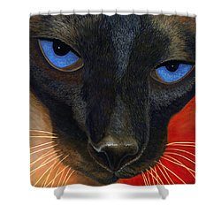 Siamese Shower Curtain