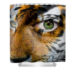 Siberian Man Shower Curtain by Semmick Photo