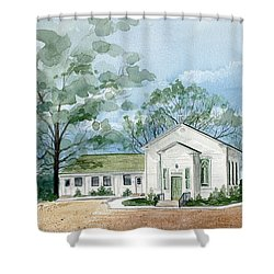Sicklerville 1859 Church  Shower Curtain