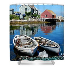 Shower Curtain featuring the photograph Side By Side by Betty-Anne McDonald