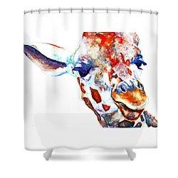 Side Eye Shower Curtain