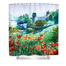 Siena View Shower Curtain