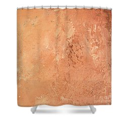 Sienna Rose Shower Curtain by Michael Rock
