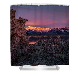 Sierra Glow Shower Curtain by Bjorn Burton