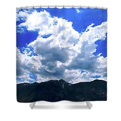 Sierra Nevada Cloudscape Shower Curtain by Matt Harang