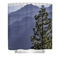 Shower Curtain featuring the photograph Sierra Nevada Foothills by Steven Sparks