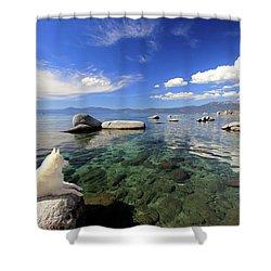 Sierra Sphinx Shower Curtain