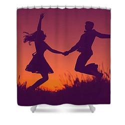 Sierra Sunset Shower Curtain