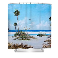 Siesta Key Fun Shower Curtain