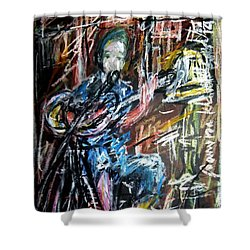 Singer Boy Shower Curtain