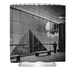 Sighting  Shower Curtain