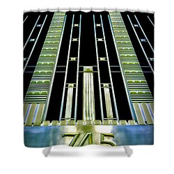 Shower Curtain featuring the photograph Sights In New York City - Classy Address by Walt Foegelle