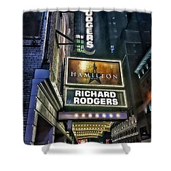 Sights In New York City - Hamilton Marquis Shower Curtain