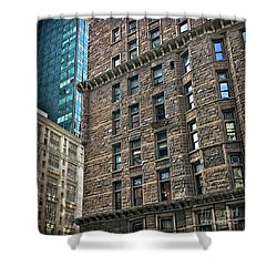 Shower Curtain featuring the photograph Sights In New York City - Old And New by Walt Foegelle