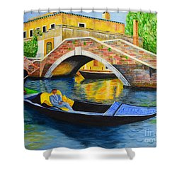 Sightseeing Shower Curtain
