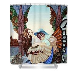 Sigmund Freud  Shower Curtain