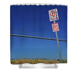 Sign Of The Times Shower Curtain
