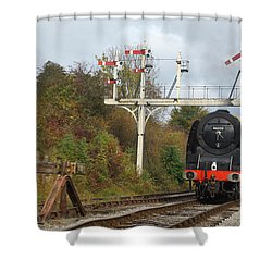 Signaling The Change Shower Curtain
