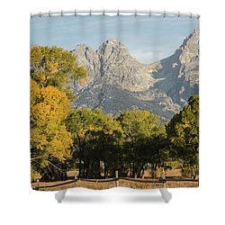 Shower Curtain featuring the photograph Signs Of Autum by Colleen Coccia
