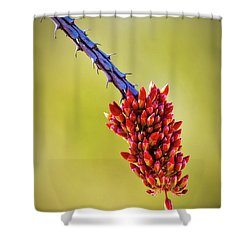 Shower Curtain featuring the photograph Signs Of Life by Rick Furmanek