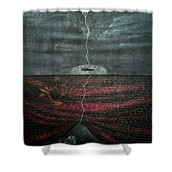 Silent Echo Shower Curtain