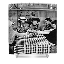 Silent Film: Little Rascals Shower Curtain