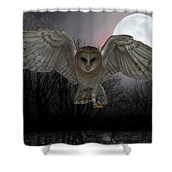 Silent Night Shower Curtain