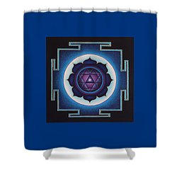 Silent Revelation Shower Curtain