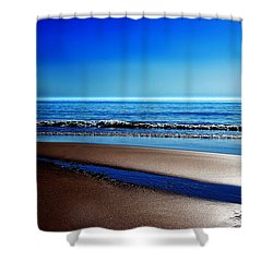 Silent Sylt Shower Curtain