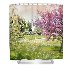 Shower Curtain featuring the photograph Silent Wish You Make by Diana Angstadt