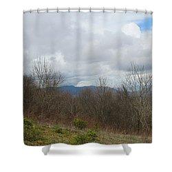 Silers Bald 2015b Shower Curtain