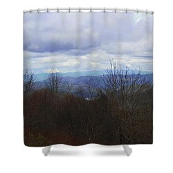 Silers Bald 2015d Shower Curtain