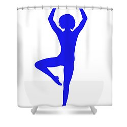 Silhouette 23 Shower Curtain
