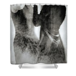 Silhouette #2345 Shower Curtain