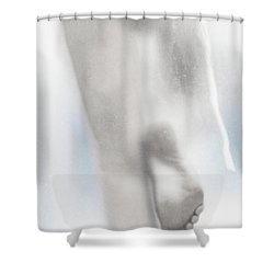 Silhouette #7422 Shower Curtain