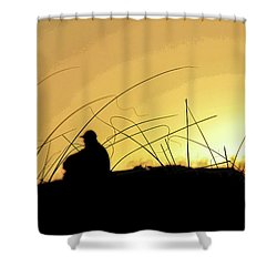 Lonely Times Shower Curtain