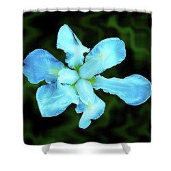 Silk Flower Shower Curtain by Mark Blauhoefer