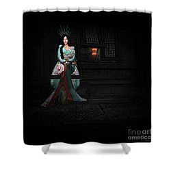 Silks And Parasols 3 Shower Curtain