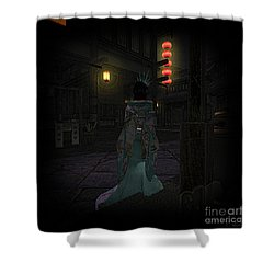 Silks And Parasols 4 Shower Curtain