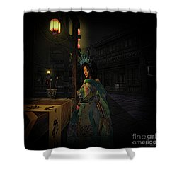 Silks And Parasols 5 Shower Curtain
