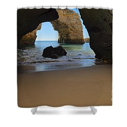 Silky Sands And Arch Shower Curtain