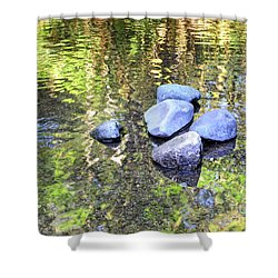 Silky Serenity Shower Curtain