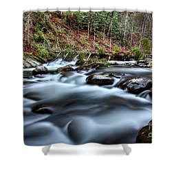 Shower Curtain featuring the photograph Silky Smooth by Douglas Stucky