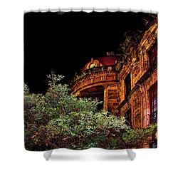 Silly Hall, Cuenca, Ecuador II Shower Curtain by Al Bourassa