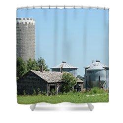 Silo And Bins Shower Curtain
