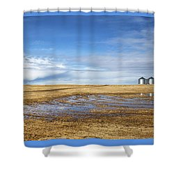 Silos Shower Curtain
