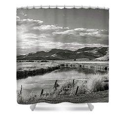 Silver Creek Shower Curtain