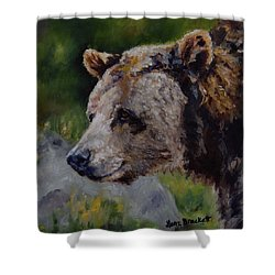 Silvertip Shower Curtain
