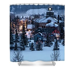 Silverton At Night Shower Curtain